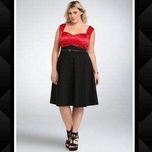 TORRID Pin-up Swing Dress